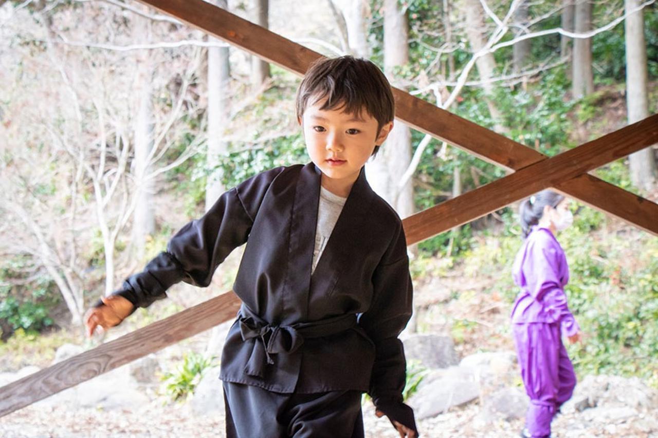 画像: 忍者修行の里赤目四十八滝。