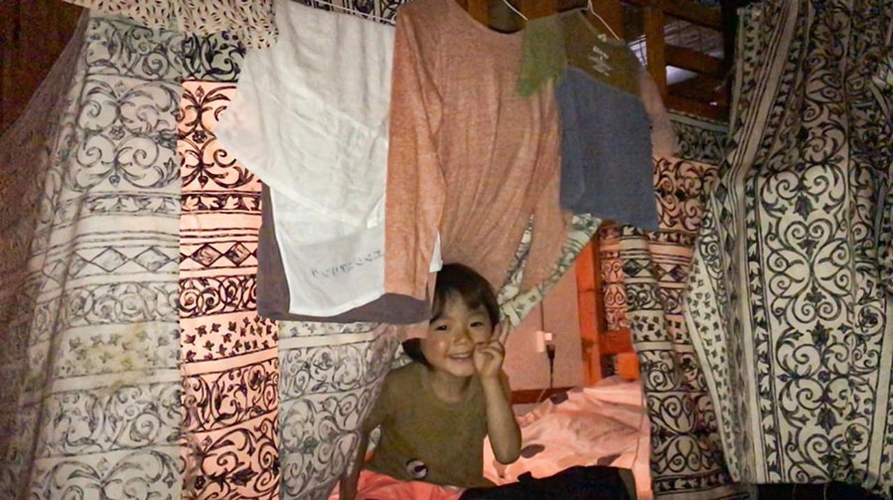 画像: 2段ベッドタイプのゲストハウス。2018年5月@沖縄。
