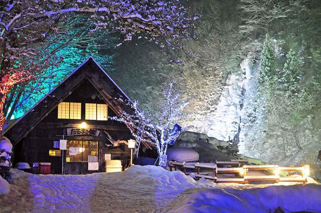 画像: 厳冬の温泉郷に広がる白銀と幻想の催し「奥飛驒冬物語」