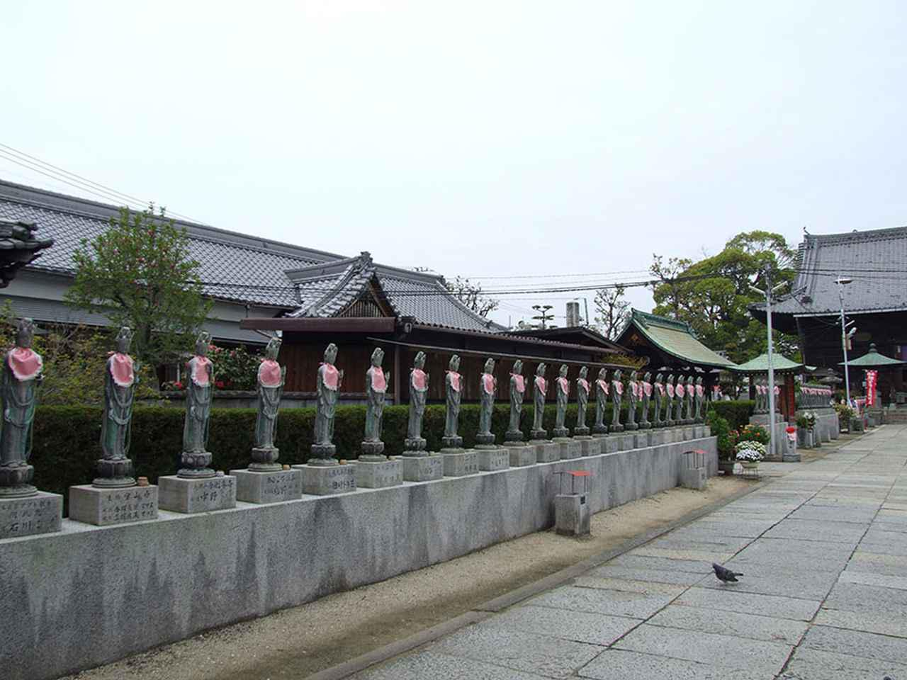 画像: 77番札所 道隆寺。
