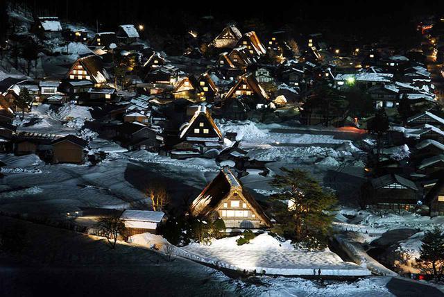画像: ルートの概要 ライトアップに固執せず、日本の原風景を楽しむ