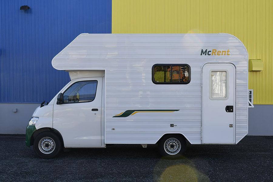 画像2: ミドルサイズのキャブコンで、キャンピングカーの装備をチェック!
