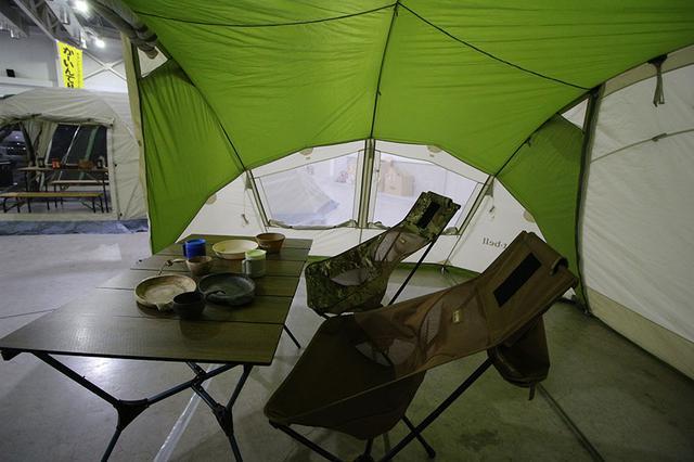 画像4: 単独でも組み合わせてもよしのドームテント&シェルター/モンベル