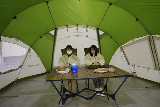 画像3: 単独でも組み合わせてもよしのドームテント&シェルター/モンベル