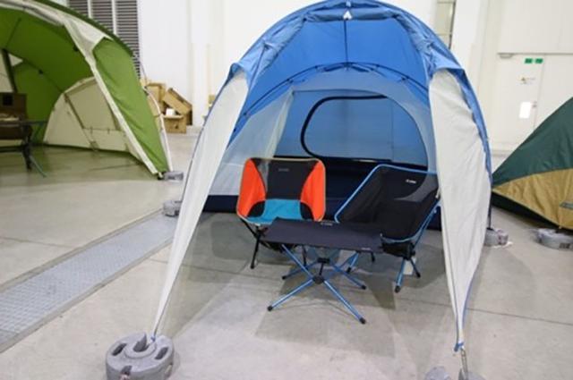 画像2: 単独でも組み合わせてもよしのドームテント&シェルター/モンベル