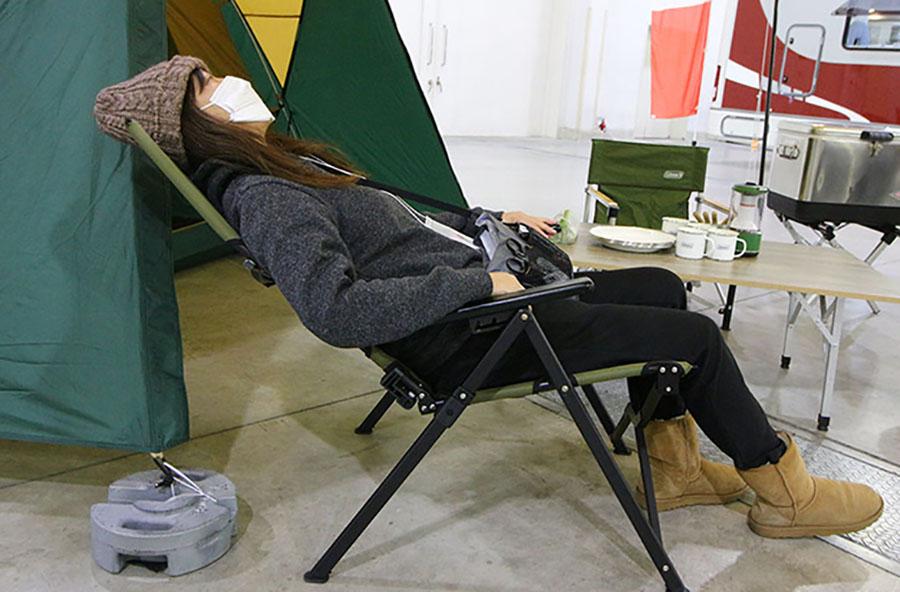 画像5: ドームテントの建てやすさにタープをプラス/コールマン