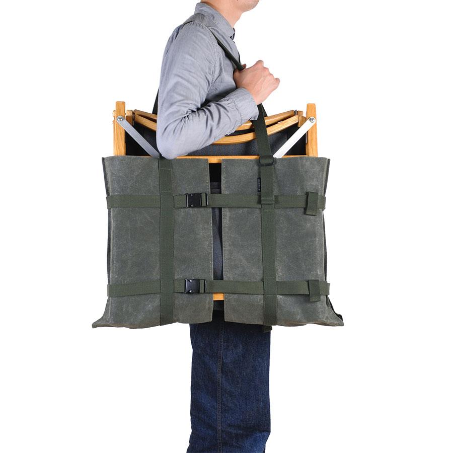画像3: 幅60~90cmのサイズ調整が可能なギアバッグ 「アジャスタブルテーブルキャリー」