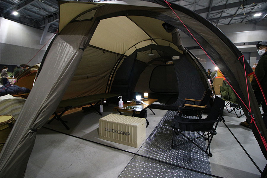 画像2: 思い立ったらすぐアウトドアに挑戦できる「クイックキャンプ」