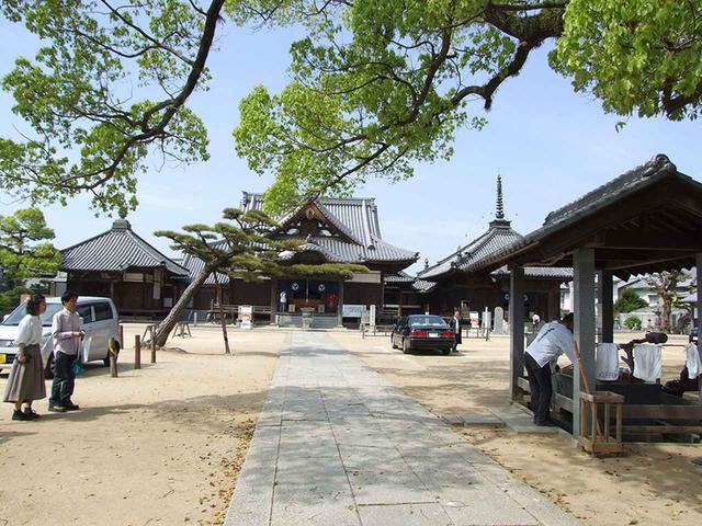 画像: 87番札所 長尾寺。