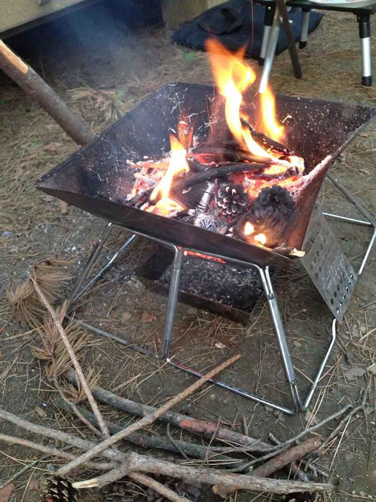 画像1: 「やりっぱなし」は絶対NG! 必ず守ってほしい焚き火のこと