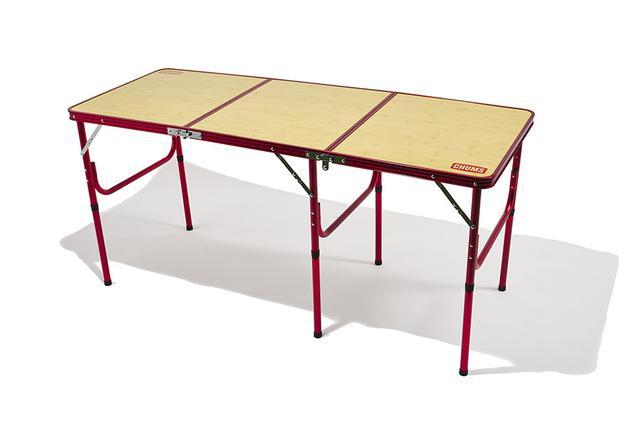 画像: ワイドサイズのテーブルはグルキャン、ファミキャンに最適!