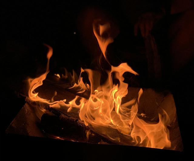 画像: ②火を大きくしすぎない