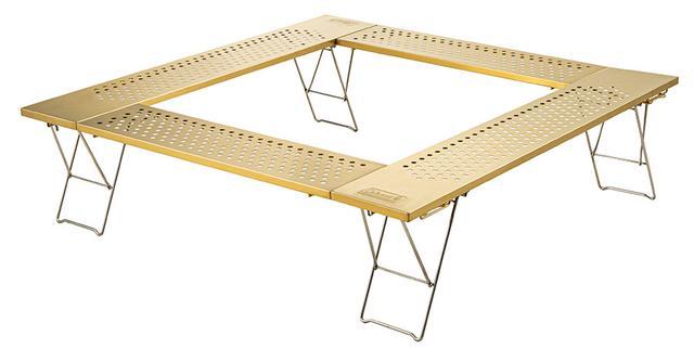 画像1: ファイアープレイステーブル(ゴールド)