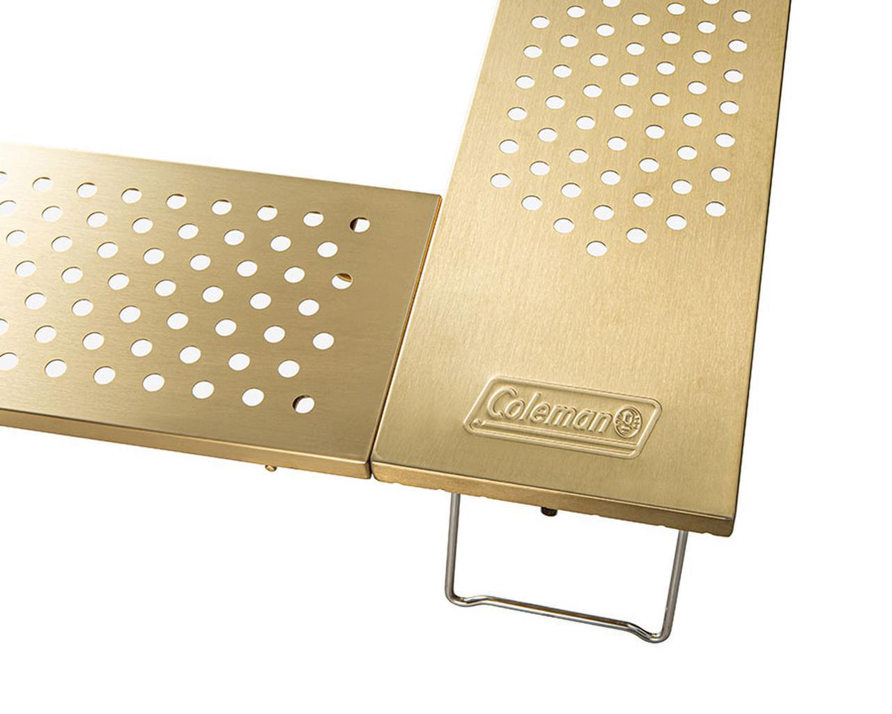 画像2: ファイアープレイステーブル(ゴールド)