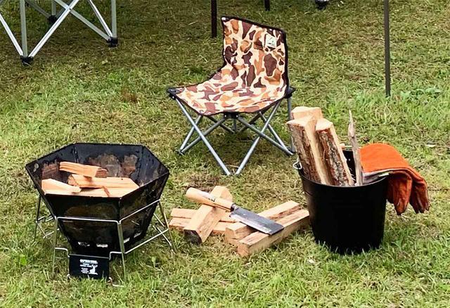 画像1: 焚き火に必要な道具