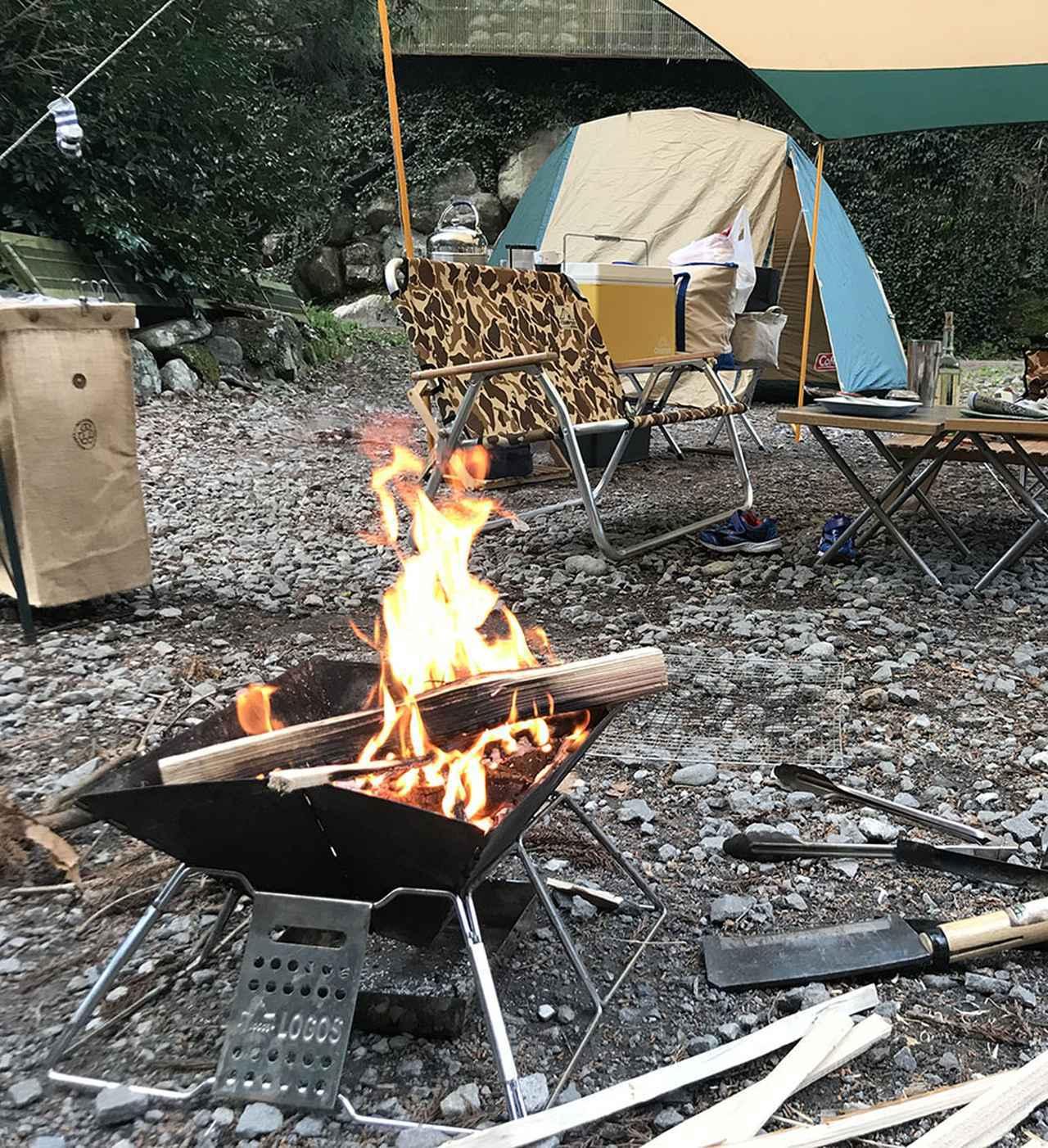 画像: キャンプ場なら、どこでも焚き火ってできる?