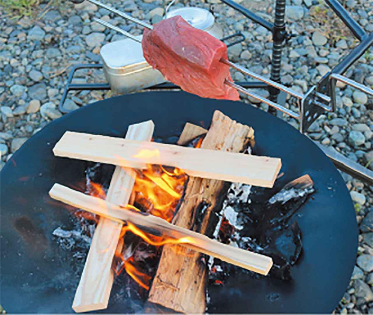 画像1: 「なぜ直火NGのキャンプ場とOKのキャンプ場がある?」