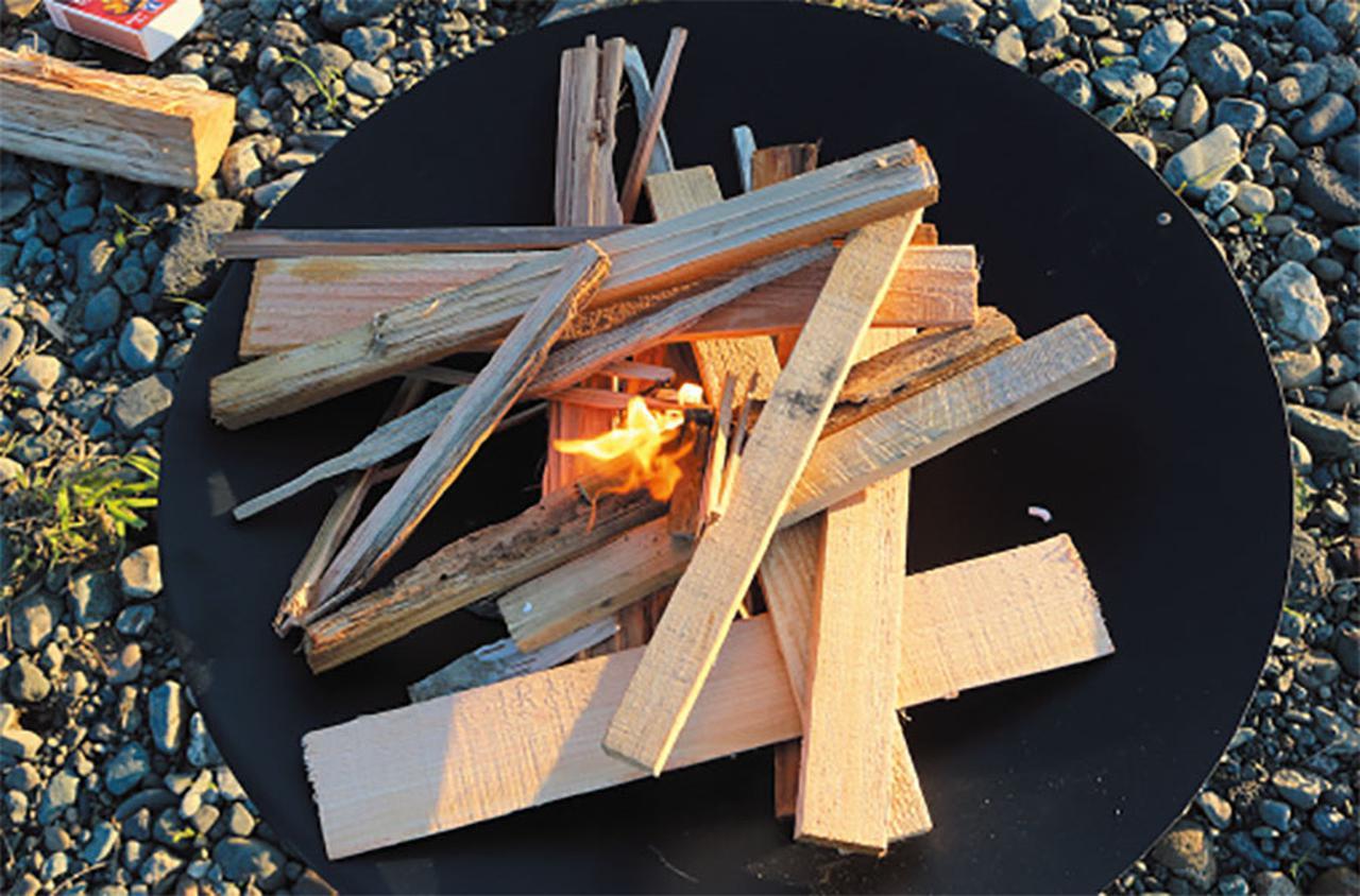 画像2: 「そもそもなんですが、焚き火の魅力って何?」