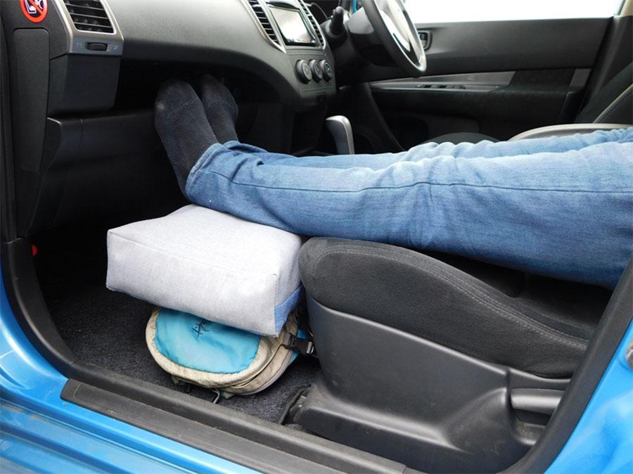 画像3: 寝床のフラット化=体のリラックス