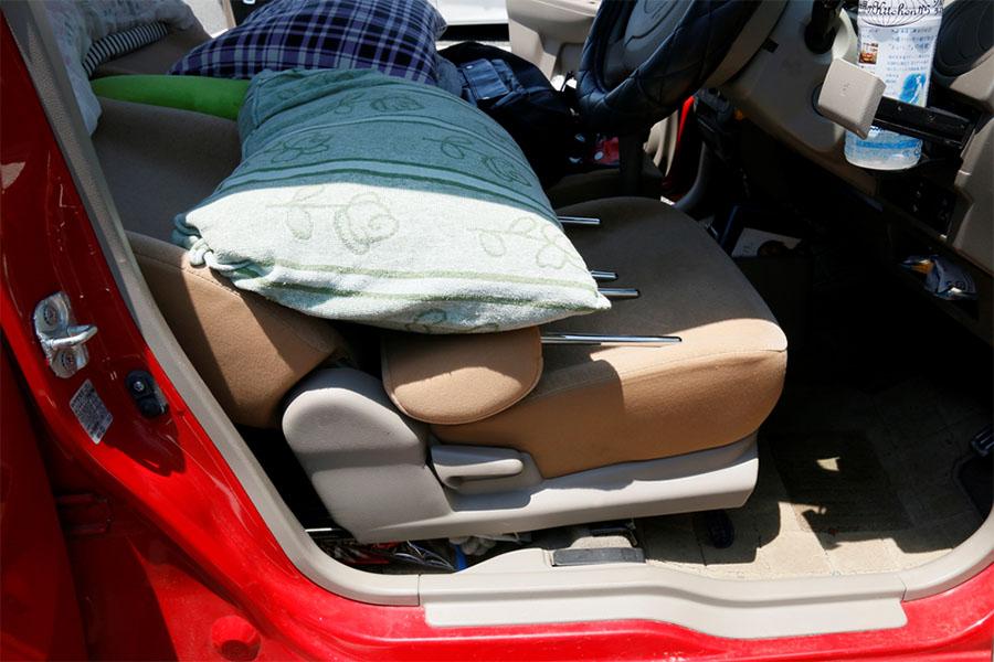 画像2: 寝床のフラット化=体のリラックス