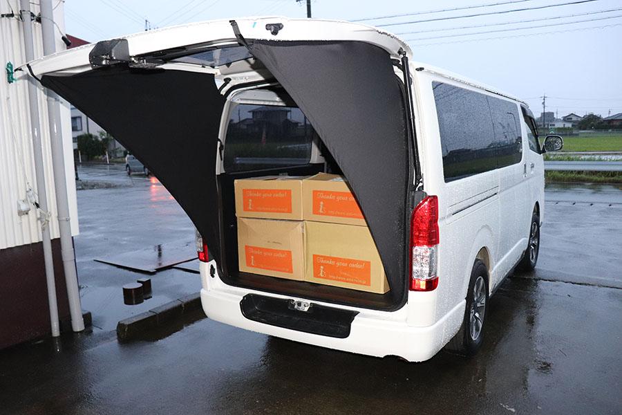 画像: レジャーのみならず、荷物の積み降ろしにも最適だ。