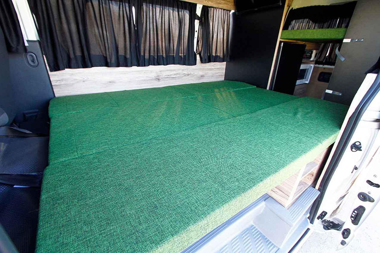 画像2: シート下に床暖房を設置した、一年中快適なナローモデル