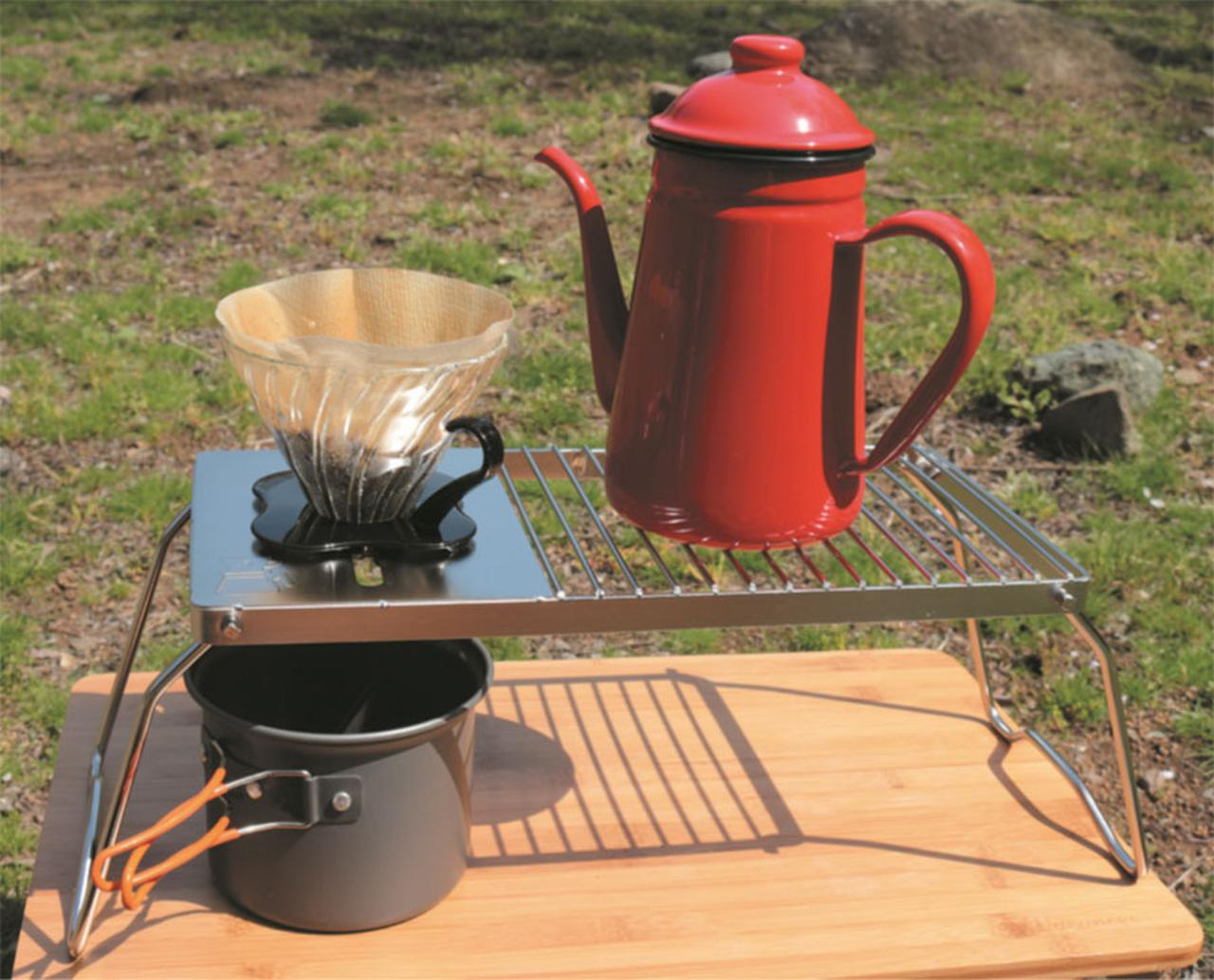 画像: ③庭&ベランダでコーヒータイム