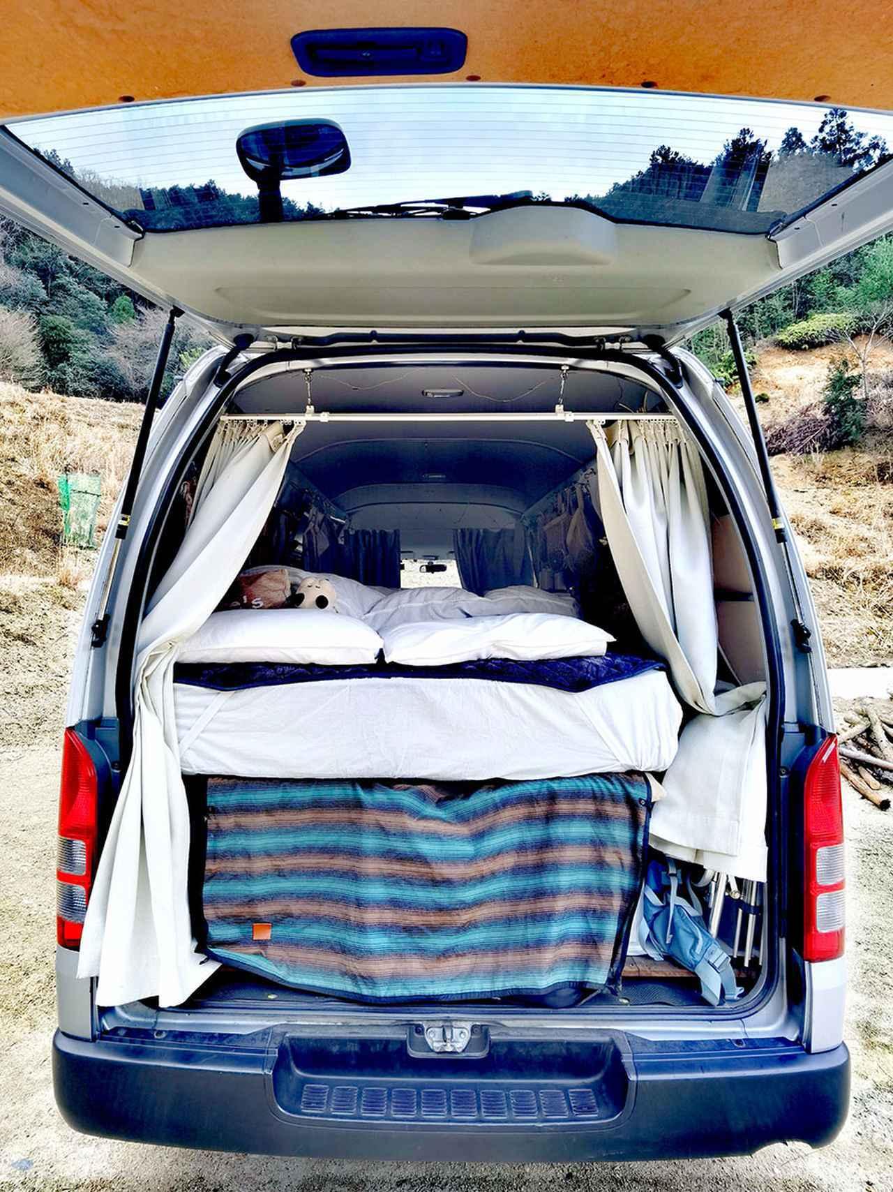 画像1: POINT まさに「快適な寝床」を実践する厚さ23㎝のダブルベッド