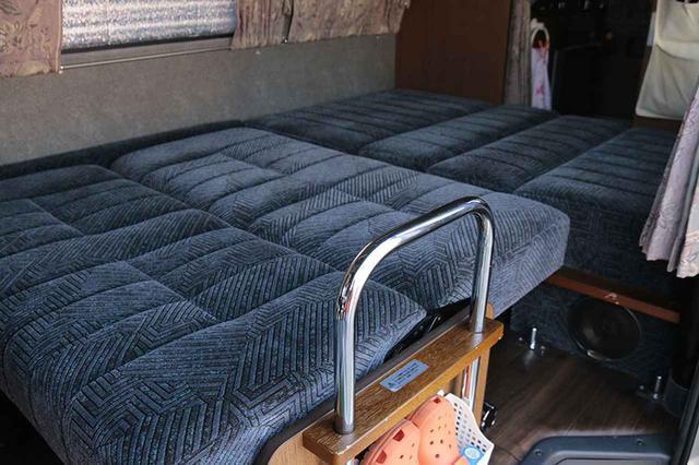 画像1: 昇降式&ソファの二段ベッド