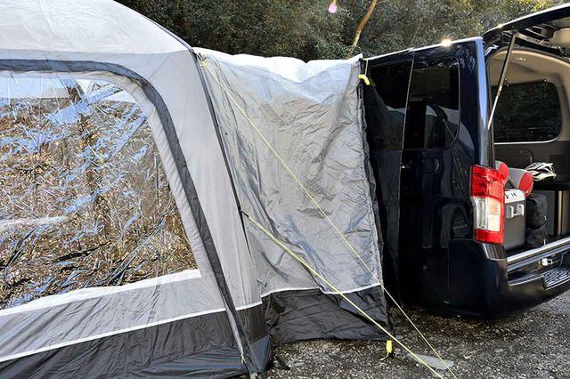 画像1: テントをサイトに残して、クルマでお出かけもOK!