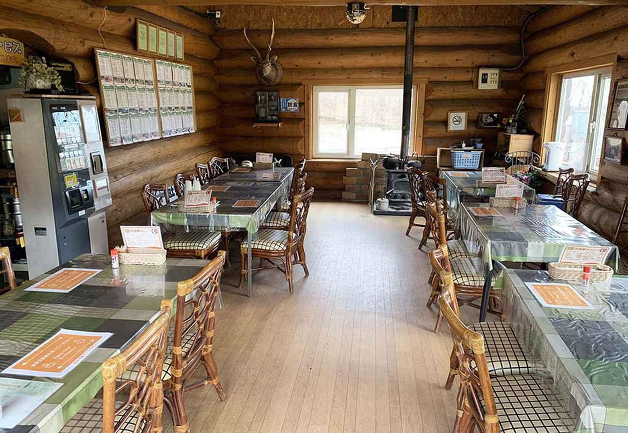 画像: 食堂コーナー。
