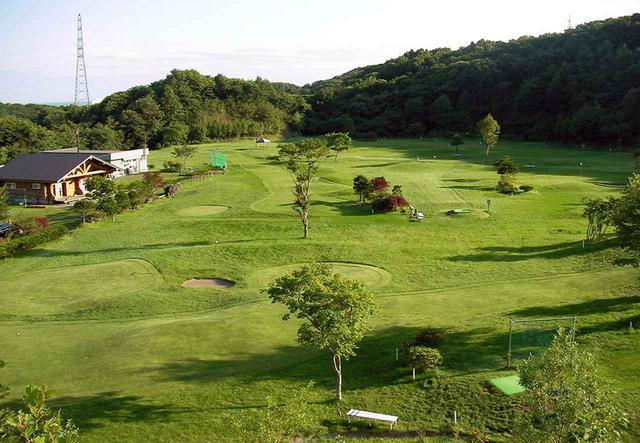 画像: ゴルフコース。