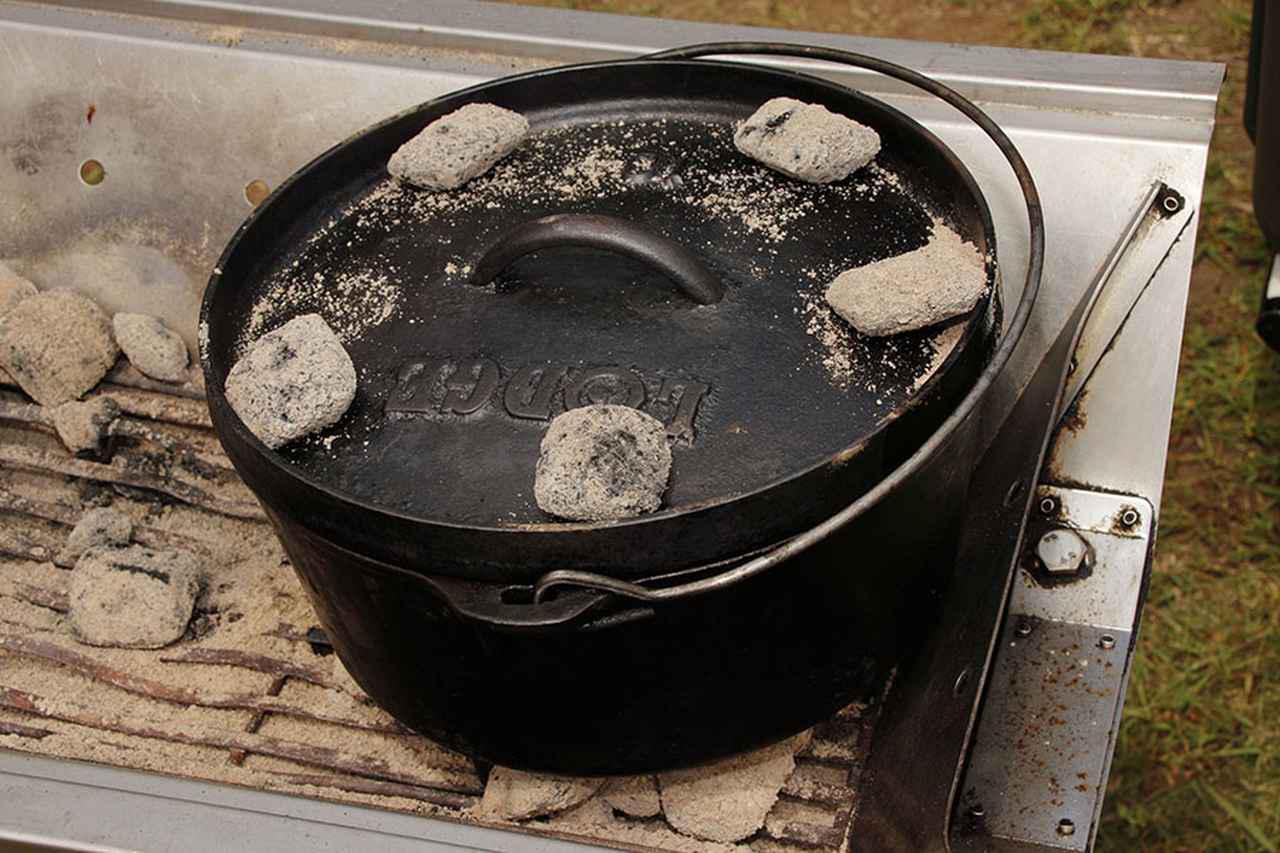 画像: 2.上火を使えて料理の幅が広がる