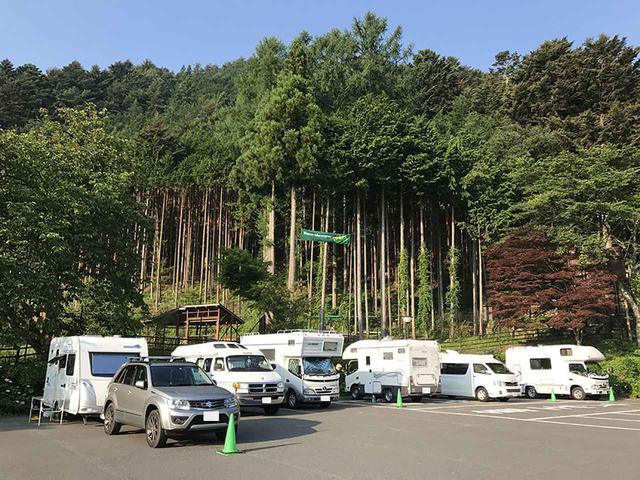 画像4: ②RVパーク 道の駅こすげ(山梨県)