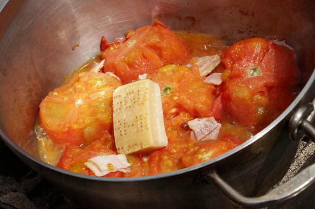 画像3: パルミジャーノ・レッジャーノのトマト無水スープ