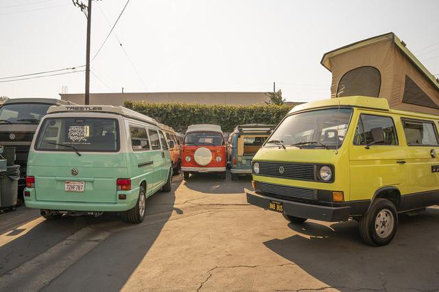 画像4: VWキャンパーバンでアウトドアトリップへ!
