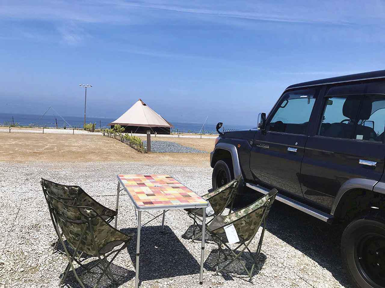画像4: 海が目の前! 大阪の都市型キャンプ場内に開設!