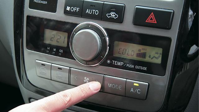 画像: 就寝前に車内を急速冷房!?
