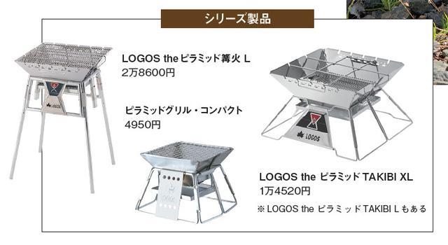 画像: 上記はピラミッドシリーズの一部。ほかにも様々なバリエーションあり。
