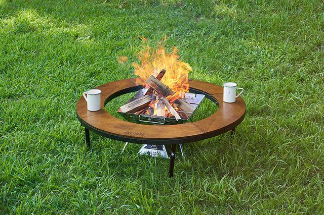 画像: 囲炉裏テーブルの先駆者は円形タイプもラインアップ