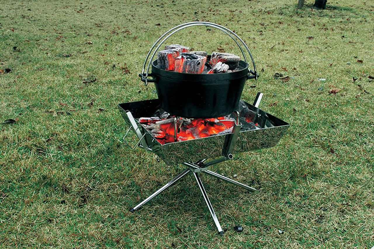画像1: 売れているのにはワケがある! キャンパーに愛される焚き火台