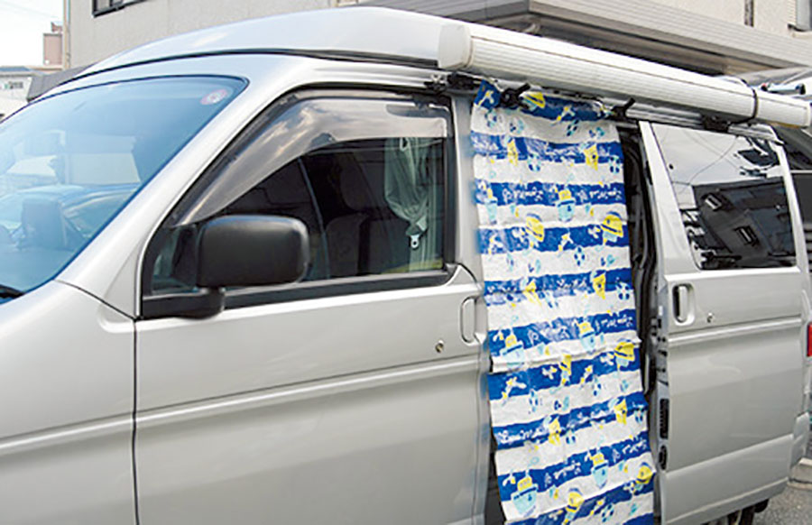 """画像2: 車内の""""濡れもの連鎖""""備え、用意しておきたいアイテム"""
