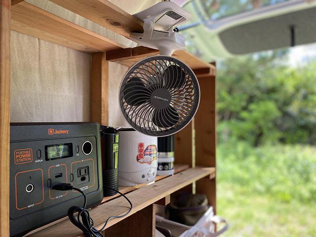 画像: みんなの車中泊暑さ対策① ポータブル電源活用編 - アウトドア情報メディア「SOTOBIRA」