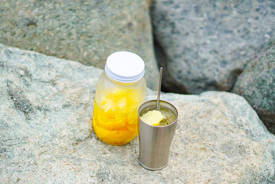 画像: 2)真夏の太陽の下で飲みたい自家製レモンサワー
