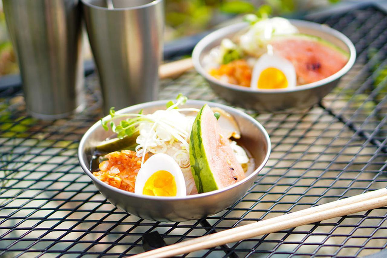 画像: 1)暑い夏にさっぱりと食べられる盛岡冷麺