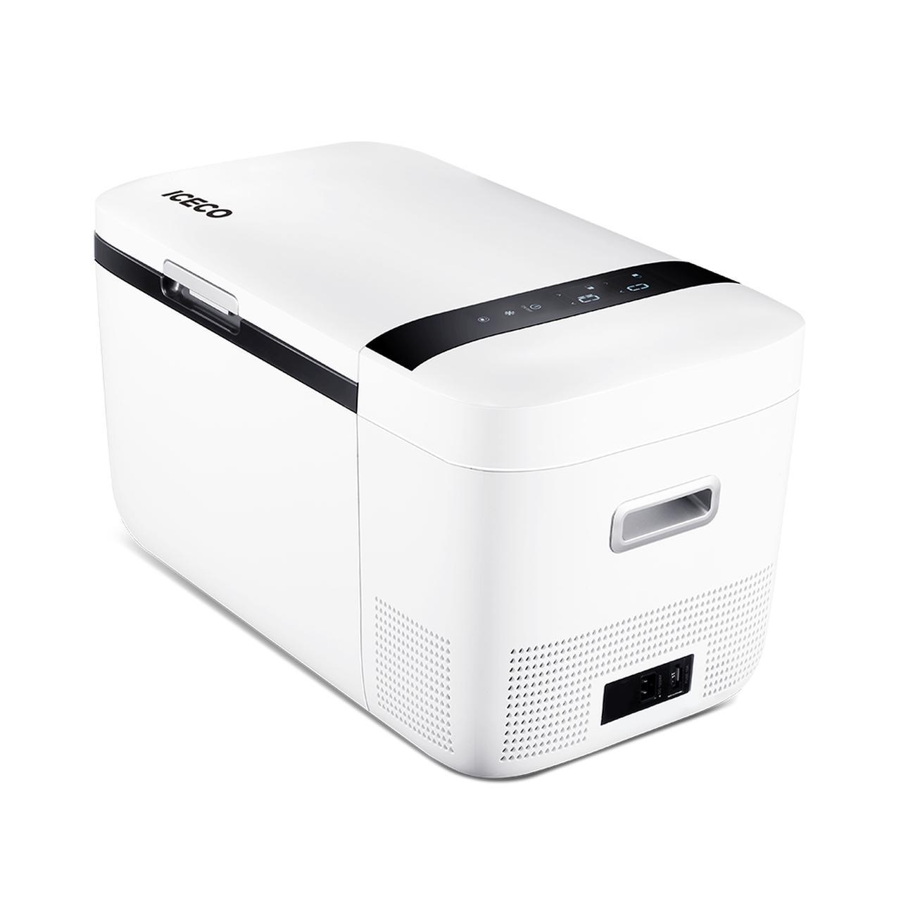 画像: 1台2役!世界が認めた冷凍冷蔵庫「ICECO」20リットルモデル T20S-WH | 株式会社オウルテック