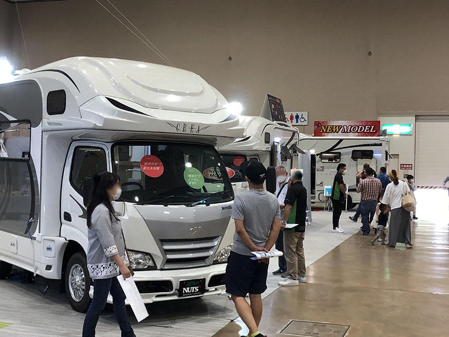 画像2: 写真:カーネル編集部 北海道キャンピングカー&アウトドアショー2020