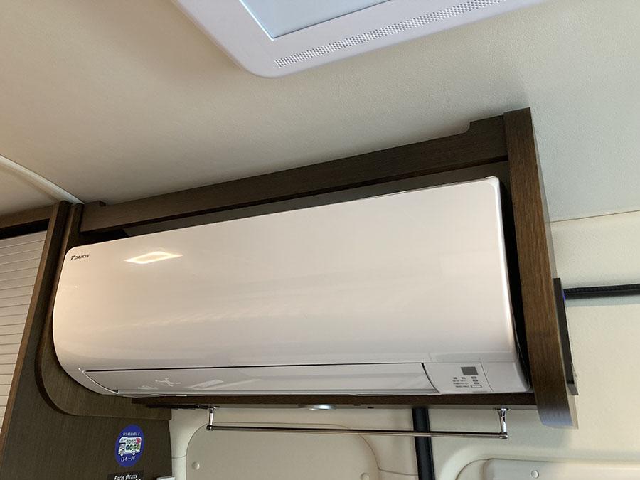 画像: 家庭用エアコン完備で酷暑も快適に乗り切る!