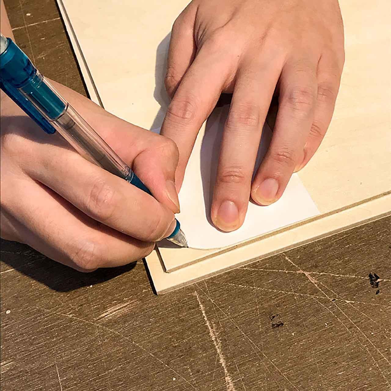 画像4: トランクカーゴにぴったりサイズのテーブル天板を作ろう!