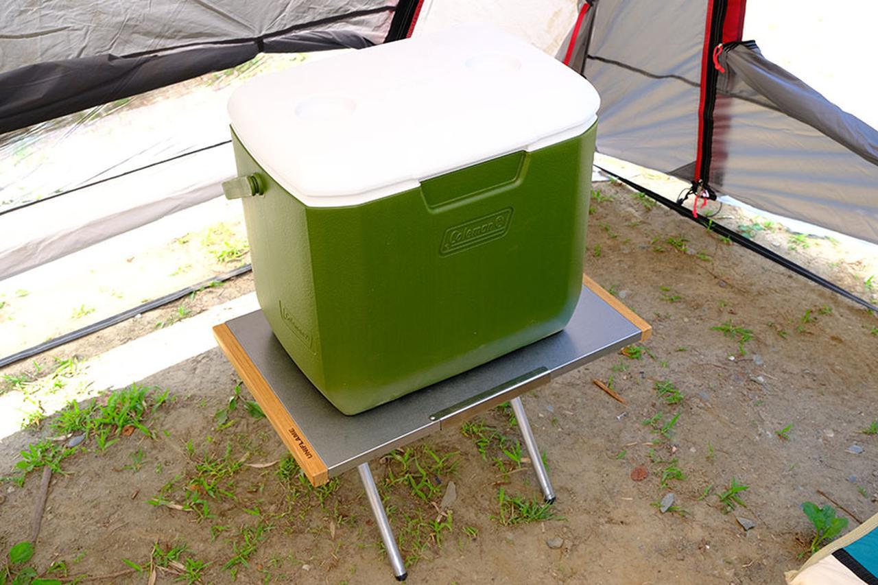 画像: 〇 小さなテーブルやラックに載せる